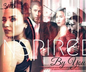 demi, nick, and fanfic image