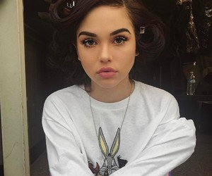 maggie lindemann, makeup, and beauty image