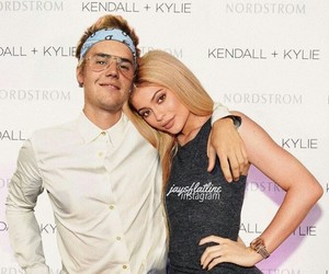 manip, kylie jenner, and justin bieber image