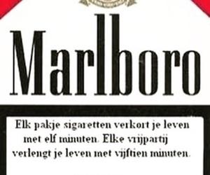 marlboro, grappig, and rokers image