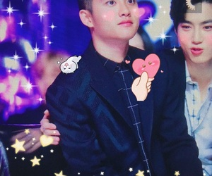 exo, kpop, and mochi image