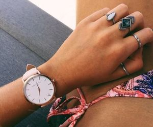 beach, summer, and jewelry image