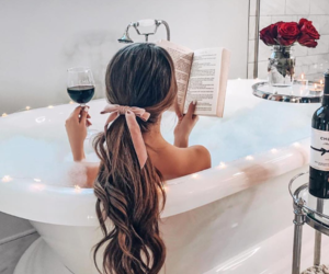 bath, relax, and chilling image
