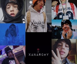 wallpaper, lil xan, and xanarchy image
