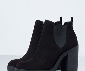 shoes, boots, and black image