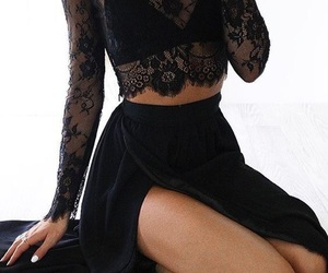 lace and prom dress image