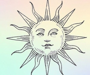 sun and drawing image