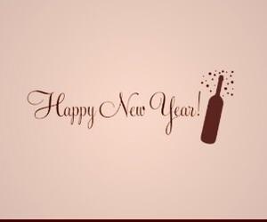 aesthetics, happy new year, and header image