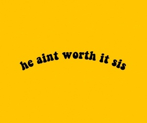 aesthetic, quotes, and yellow image