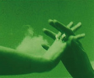 green, hands, and photography image