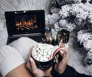 cozy, holidays, and winter image