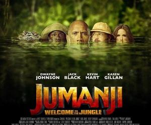 Dwayne Johnson, jack black, and jumanji image