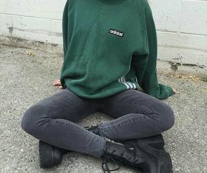 fashion, adidas, and grunge image
