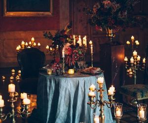 candles, date, and romantic image