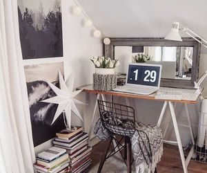 decoration, desk, and home decor image