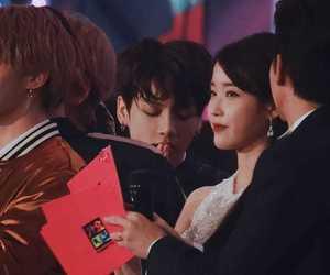 bts couple and jungkook iu image