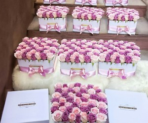 beautiful, bouquet, and gift image