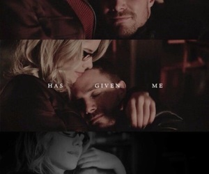 arrow, oliverqueen, and olicity image