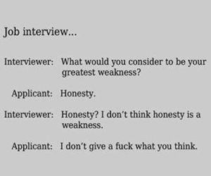 funny, honesty, and quotes image
