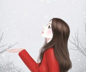background, beautiful, and cartoon image