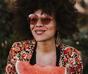 Afro, positive, and summer image