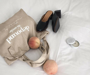 minimalist, aesthetic, and peach image