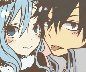 gruvia and fairy tail image
