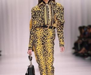 kaia gerber, fashion, and Versace image