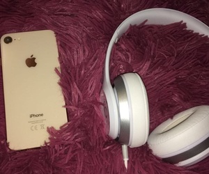apple, beats, and iphone image