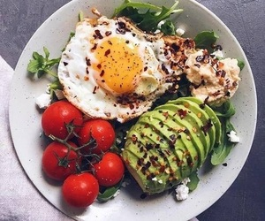 breakfast, healthy, and avocado image