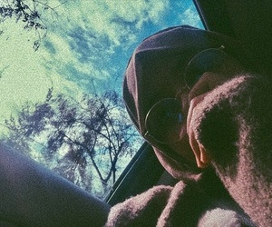 blogger, glasses, and hijab image
