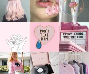 Collage, fashion, and pink image