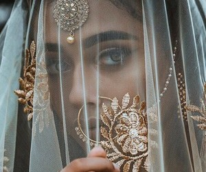 beauty, indian, and woman image