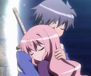 zero no tsukaima, anime, and louise image