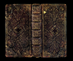 antique and book image