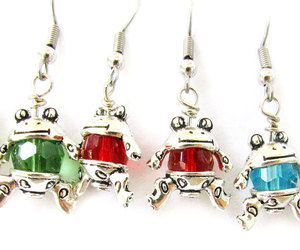etsy, cute earrings, and stocking stuffer image