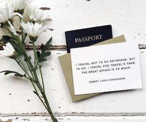 flowers, quotes, and white image