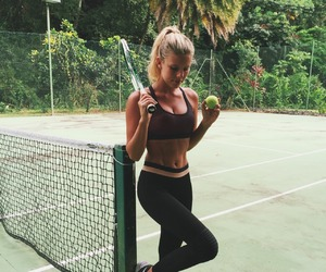 workout, nike, and fitness image