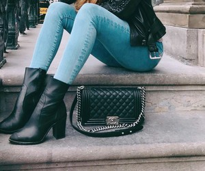 bags, beautiful, and boot image