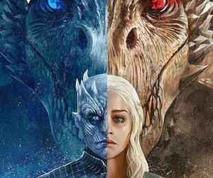 winter is here, game of thrones, and a song of ice and fire image