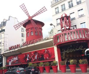 moulin rouge, red, and mon matre image