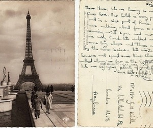 paris, vintage, and france image