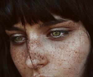 beautiful, woman, and eyes image