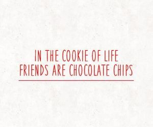 chocolate, food, and friend image