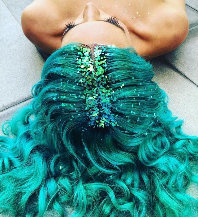 hair, color, and mermaid image