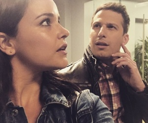 andy samberg, brooklyn nine nine, and b99 image