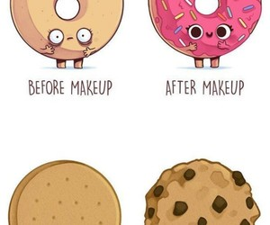 dibujo, divertido, and donuts image