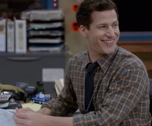 andy, andy samberg, and brooklyn nine nine image