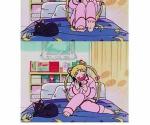 anime, art, and background image