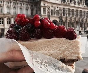 cake, chocolate, and paris image
